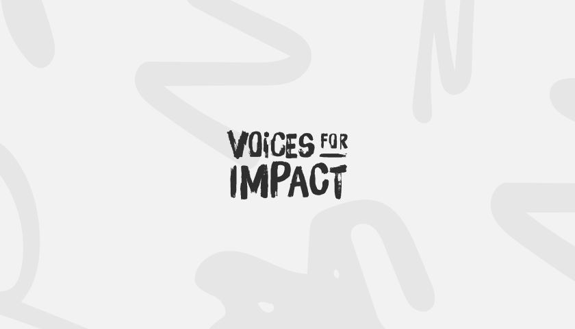 Case Study: Voices for Impact - Logo
